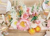 Farbenkräftiges Styled Shoot von Ellen Kapalka / Frieda Therés mit Vicki Grafton Photography