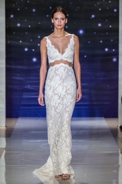 Reem Acra Bridal Spring 2016. Read more - http://www.hummingheartstrings.de/?p=11171