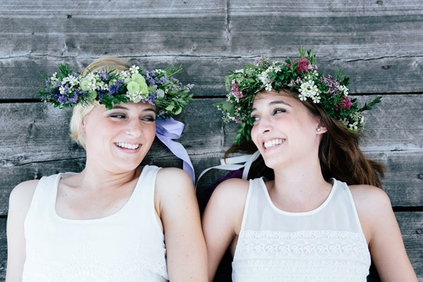 flower crown inspired shoot. Photography: Julia Hofmann Fotografie. Read more - http://www.hummingheartstrings.de/?p=11105
