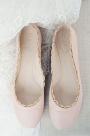 Photo Erich McFey via Wedding Chicks, Shoes Chloe.