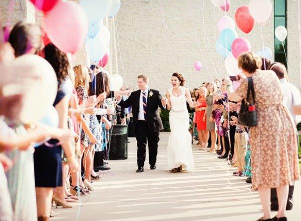 Wedding Exit Ideas. Read more: http://www.hummingheartstrings.de/?p=12714, Allison Davis Photography