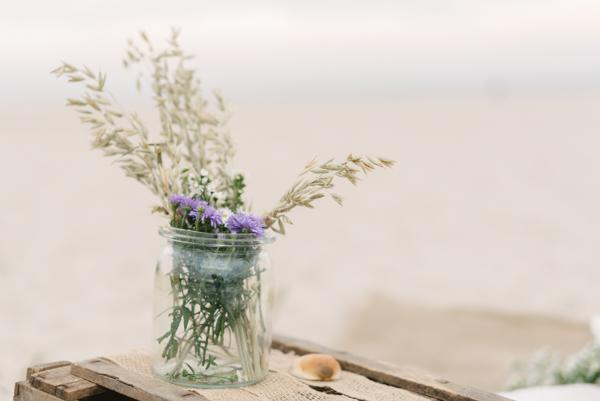 Beach Wedding by Sandra Huetzen Photography via Wedding Blog Humming Heartstrings-43