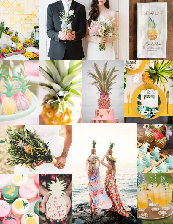 Pineapple Wedding Inspiration