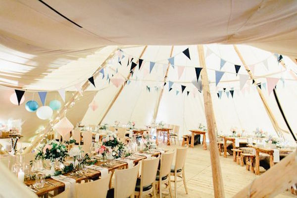 Tipi Wedding Ideas. Photography: Carmen&Ingo Photography as seen on Wedding Blog Humming Heartstrings
