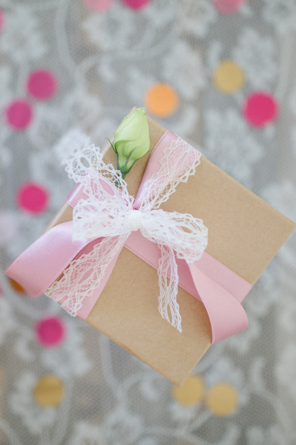 Bridesmaid Gift Box by Patricia Kranich. Photography by Julia Basmann as seen on Wedding Blog Humming Heartstrings 3