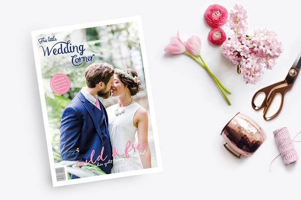 Print magazine by The little Wedding Corner as seen on Wedding Blog Humming Heartstrings. Read more: http://www.hummingheartstrings.de/?p=21089